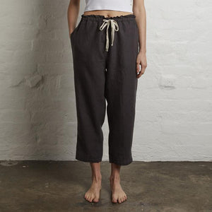 womens linen pants kohls