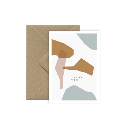Michoucas Thank you Abstract Card