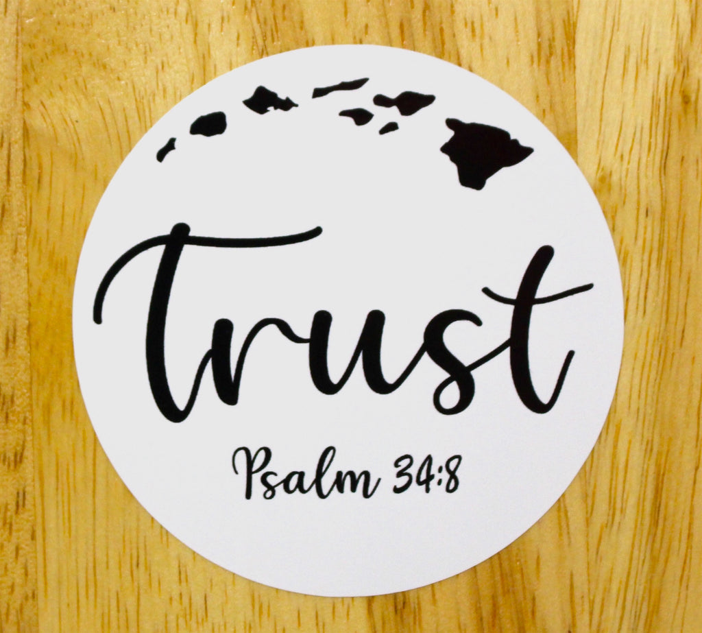 Moku Sticker - Trust Christian Apparel