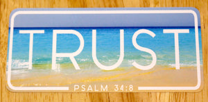 Trust Christian Apparel and Stickers