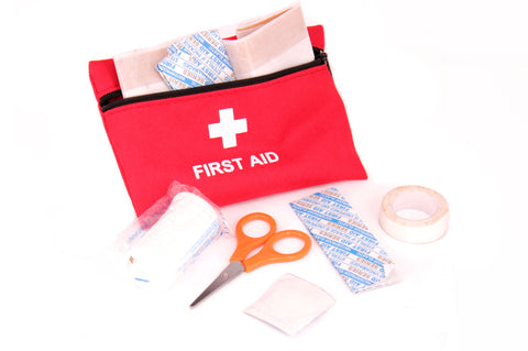 First Aid Kit Safety Plasters Scissors Bandage Christmas Stocking Filler