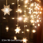 3m X 3m 300 LED Light LED Curtain Lamp Romantic Decorations for Home New Year Decoration Garland