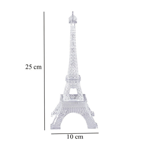 Romantic Eiffel Tower LED Night Light Lamp Desk Table Home Bedroom Decorate Gif LED Eiffel Tower Night Light Decor