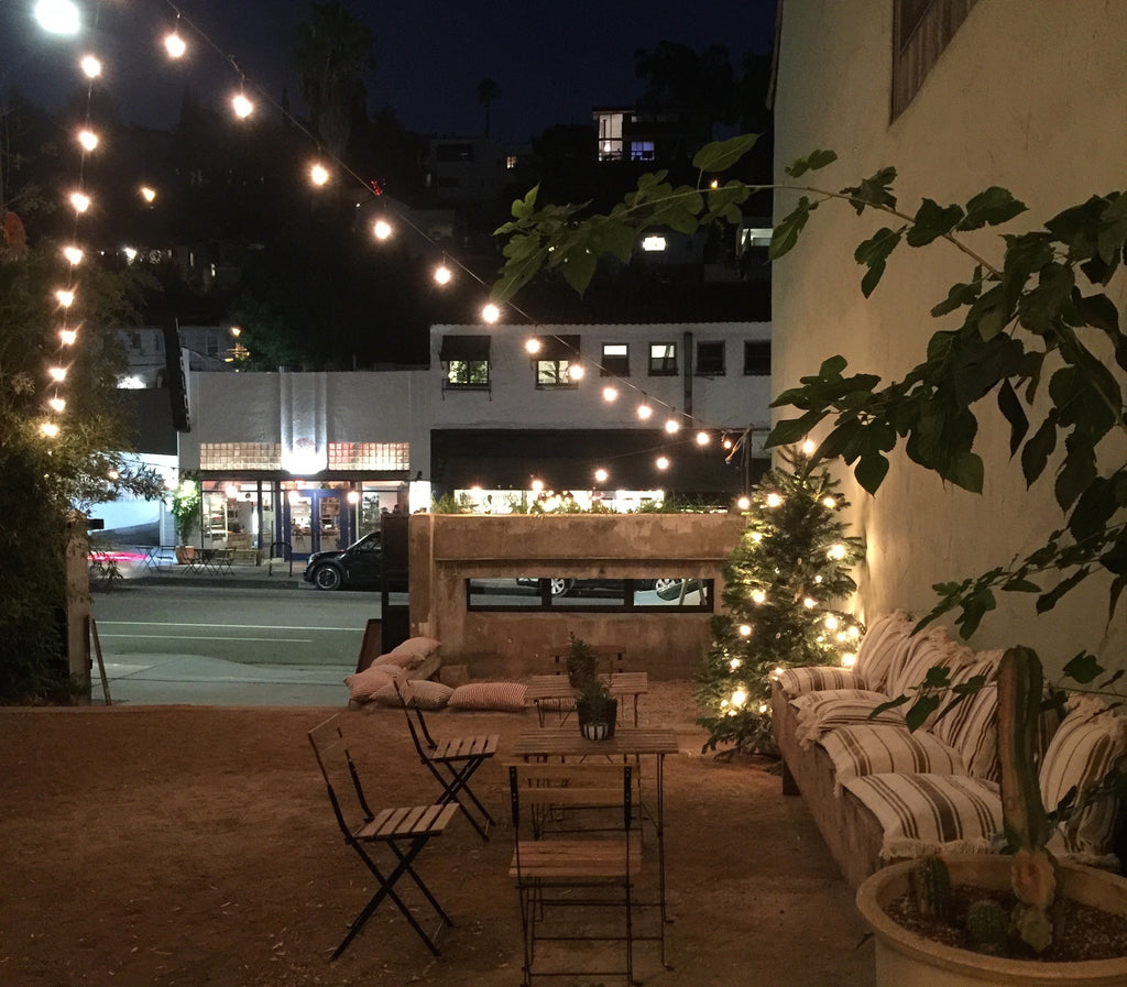 Private Courtyard Events