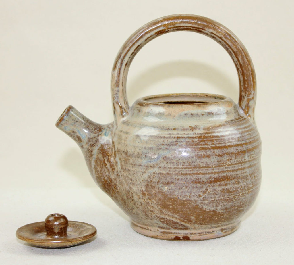 Little brown tea pot