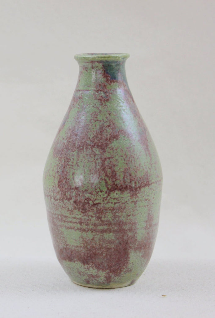 Green and purple vase