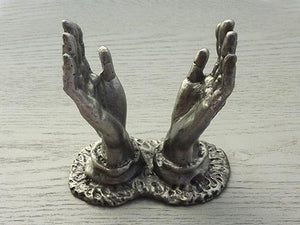 Pewter Stand - Hands