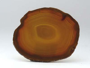 Agate Slice Large G - Natural