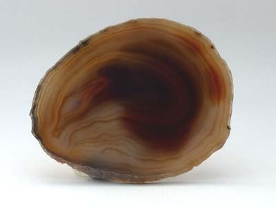 Agate Slice Medium I - Natural
