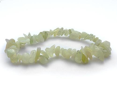 Single Strand Chip Bracelet - Jade