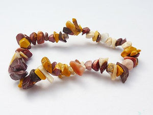 Single Strand Chip Bracelet - Mookaite