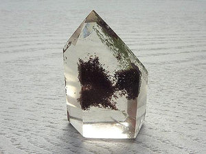 Clear Quartz Phantom Generator with Cholorite A