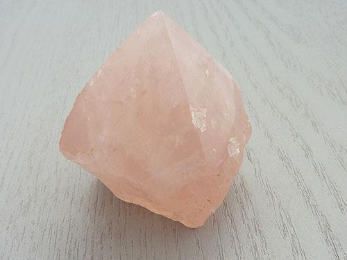 Rose Quartz Generator - Natural Sides C