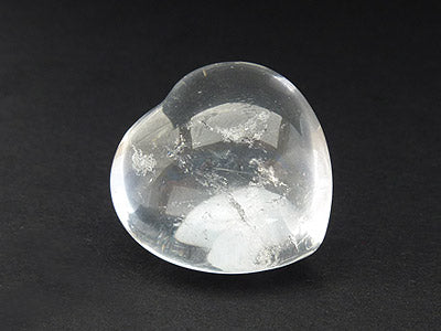 Clear Quartz Heart 2.5cm