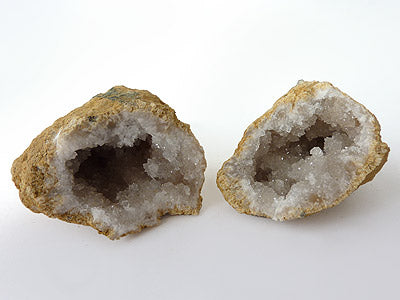 Cracked Quartz Geode B (2 piece)