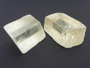 Clear Calcite Rhombic Cubes - Natural M