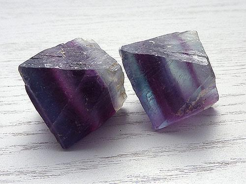Fluorite Octahedron - Large Purple