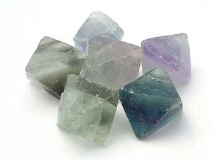 Fluorite Octahedron - Medium Green