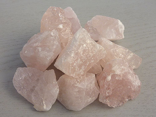 Natural Rose Quartz Pieces