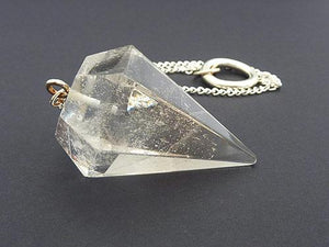 Clear Quartz Pendulum