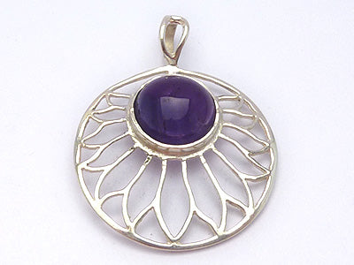Sundisc with Amethyst