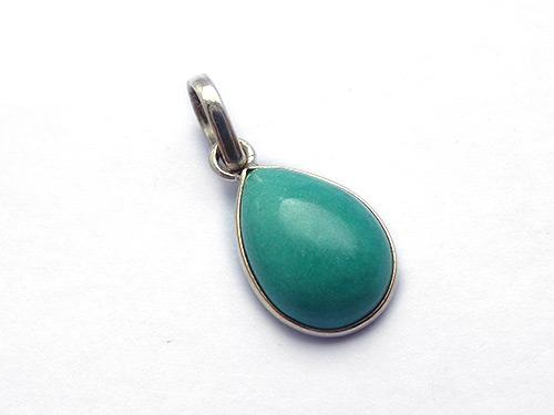 Turquoise Pear Shaped Drop Pendant