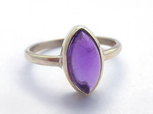 Amethyst Marquis Ring