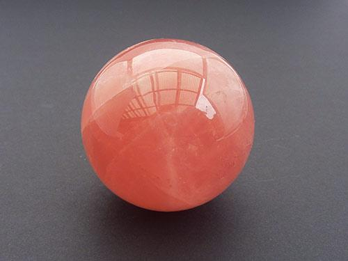 Rose Quartz Sphere - High Grade 4cm dia