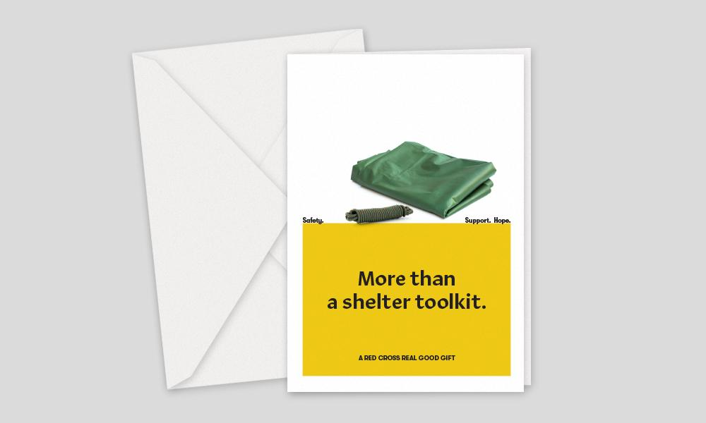 Australian Red Cross, Charity Gifts, Shelter Toolkit Ensures That A Family Has A Place To Sleep