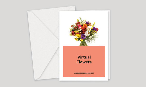 Australian Red Cross, Charity Gifts, Virtual Flowers