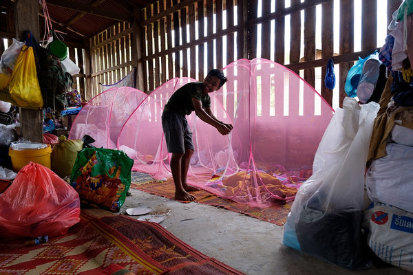 Australian Red Cross, Charity Gifts, Two Mosquito Nets For Families Around The World After A Disaster