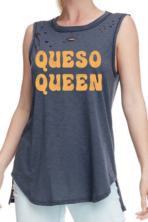 QUESO QUEEN TANK