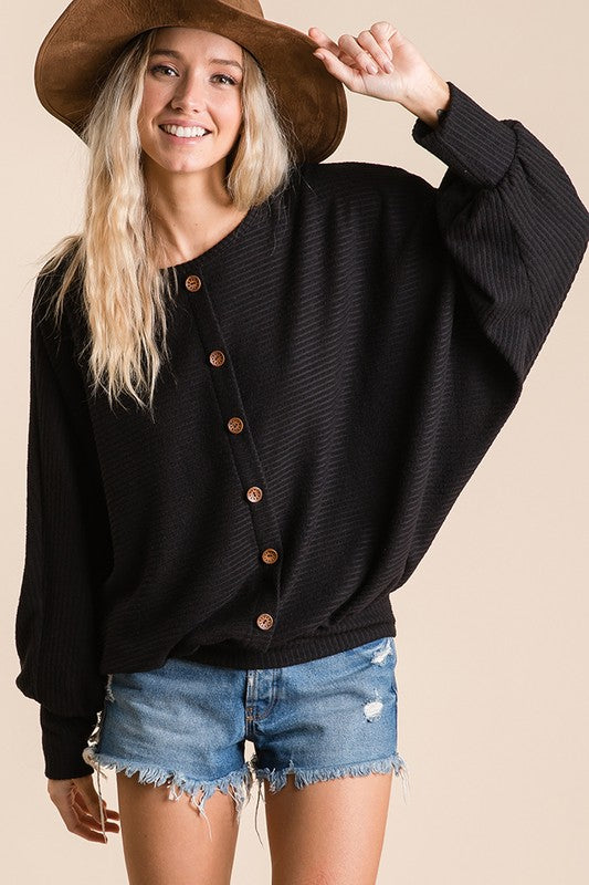 BLACK BUTTON THERMAL