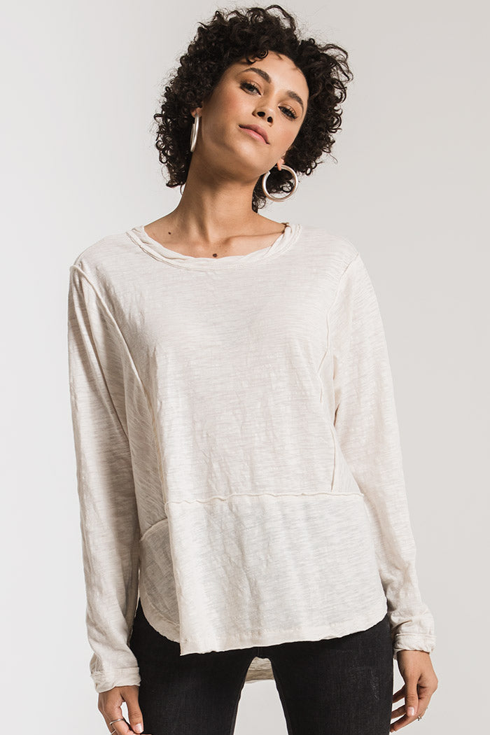 THE AIRY SLUB LONG SLEEVE