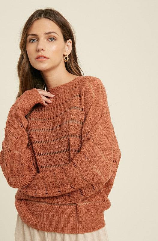 CROCHET SWEATER