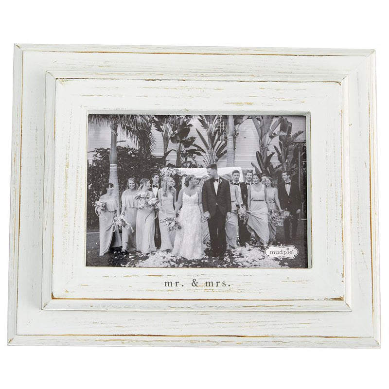 MR. & MRS. SMALL WOOD FRAME