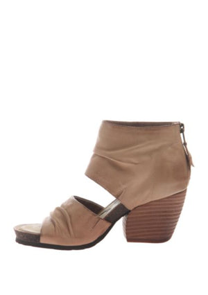 PATCHOULI HEELED SANDAL TAUPE
