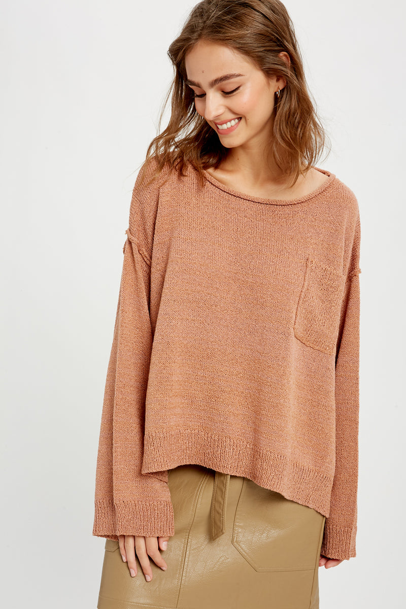 GINGER POCKET SWEATER