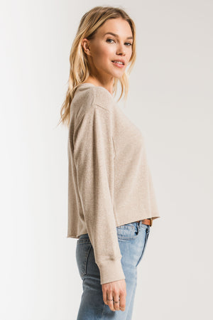 THE TRIBLEND CROPPED TEE