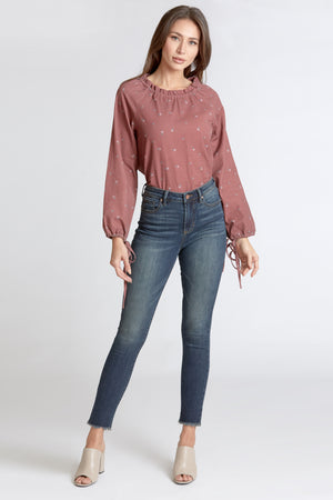 OLIVIA SUPER HIGH RISE SKINNY MIDPARK