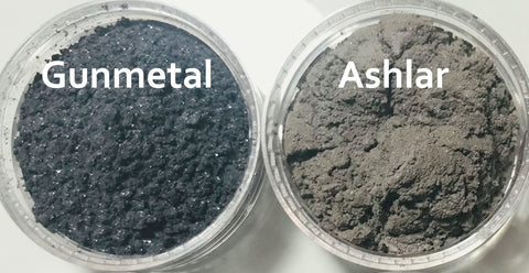 Grey Black Silver Gray Eye Shadows