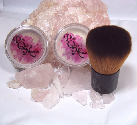 Large Foundation and Veil Combo with Large Vegan Kabuki Brush