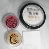 Stage and Halloween Costume Makeup Base and 3 Colors Your Choice PInk Quartz Minerals Face Paint