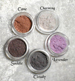 BLUE Eye Color Matte Vegan Eye Shadow Kit