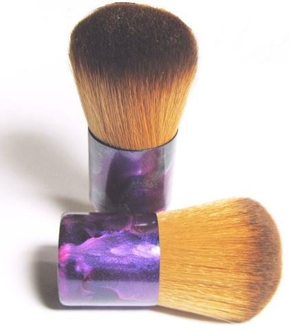 Foundation Brush Vegan Kabuki Brush for Mineral Makeup Application