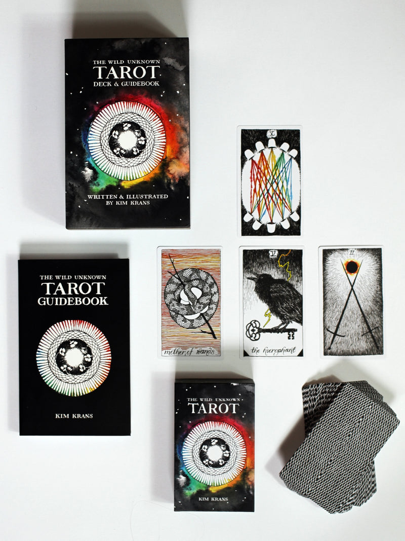 The Wild Unknown Tarot - Deck & Guidebook