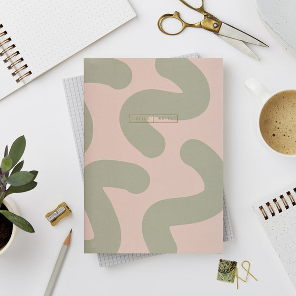 Wiro Green Mallow Notebook