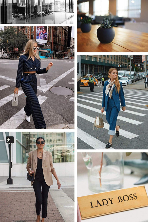 Women's pantsuits, blazers and office outfits by J.ING
