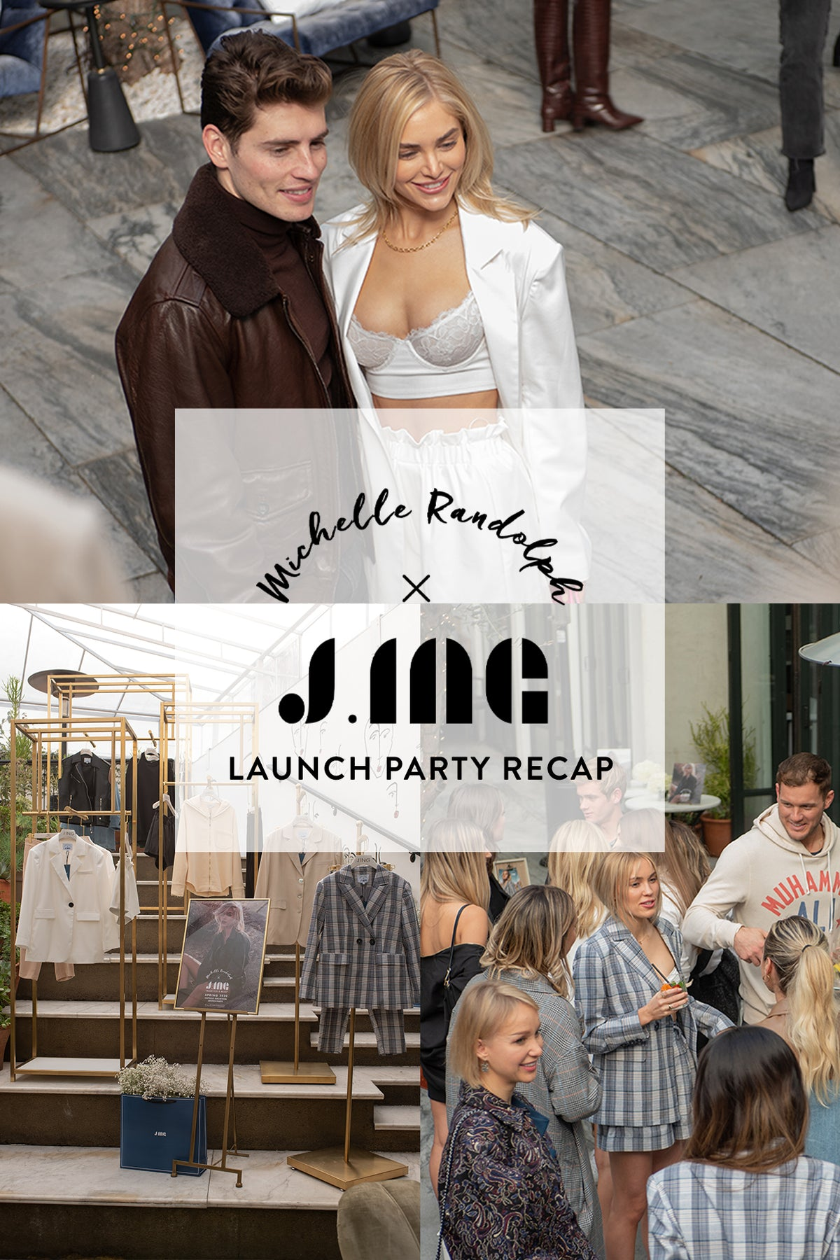 Michelle Randolph X J.ING's Launch Party Recap!