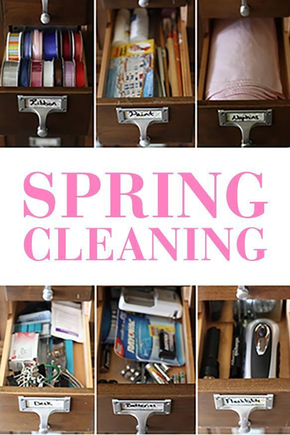 Spring Cleaning - How to Do It Right